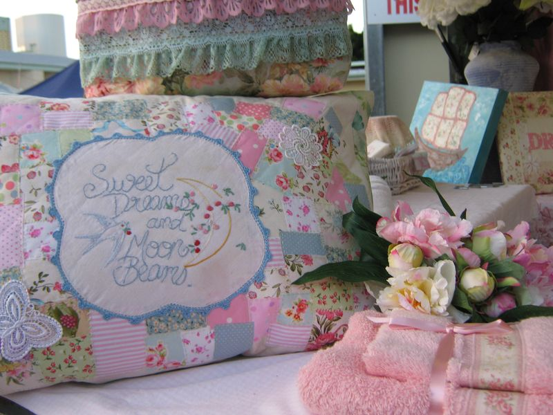 Vintage bags and cushions 029