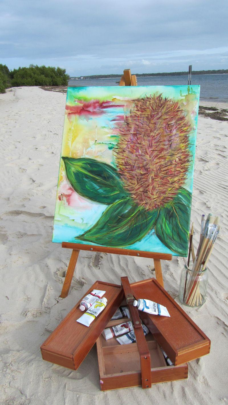 Banksisas to beach 016