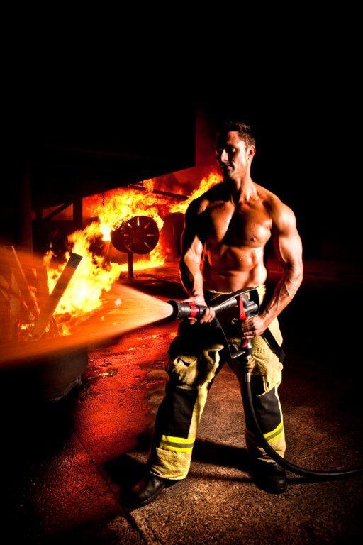 Fireman at Expo