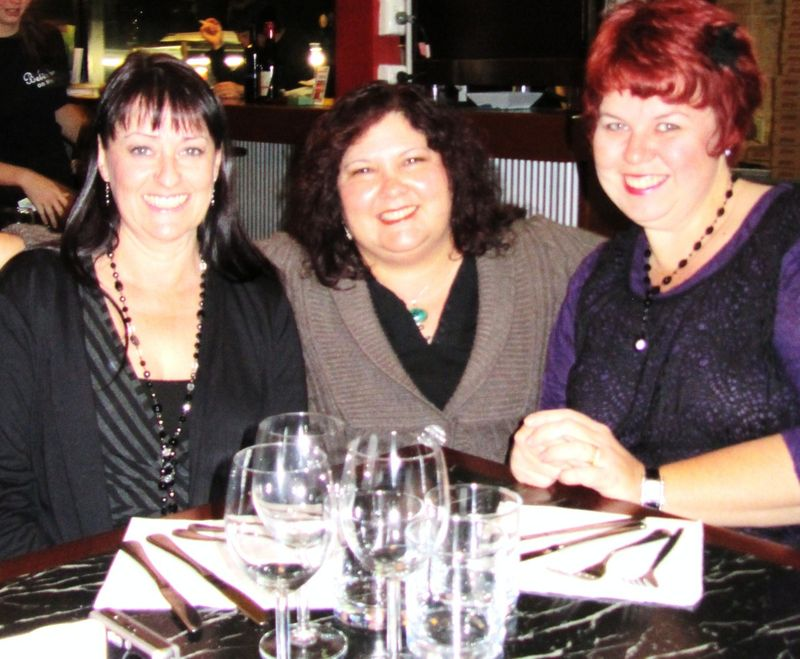 Dinner with Kerryanne and Kris